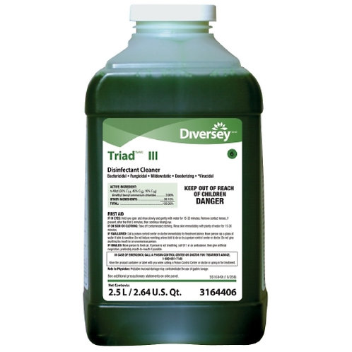 Diversey Triad iii Disinfectant - 2.5 Ltr
