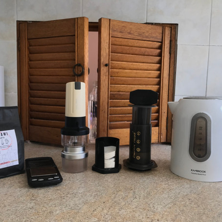 Dialling in [Aeropress] : Malawi Chanya by Vincent