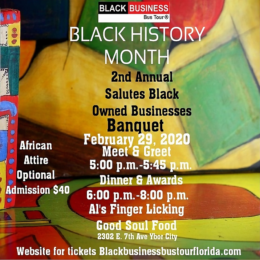 BBBT 2nd Annual-2020 Salute Black Owned Businesses Banquet