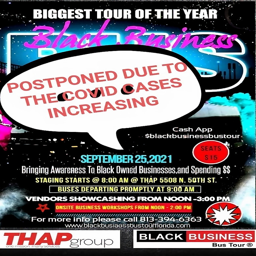 Black Business Bus Tour, the Biggest Tour of The Year on Sep 25, 2021