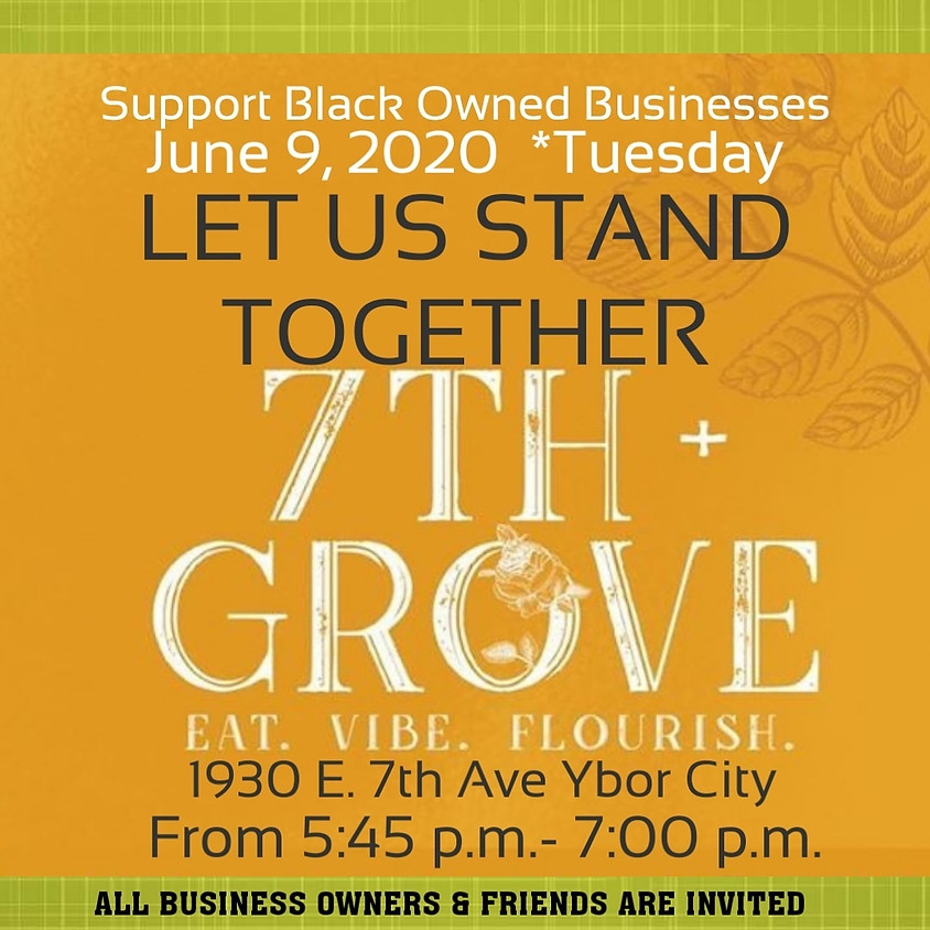 Black Business Bus Tour, Let Us Stand Together!