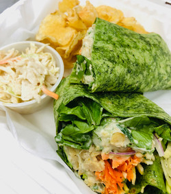 Organic Veggie Wrap