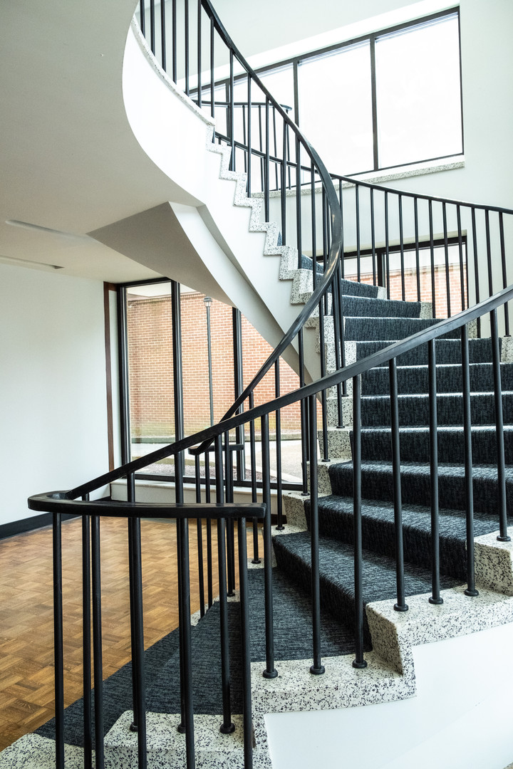 Spiral Stair to Second Floor