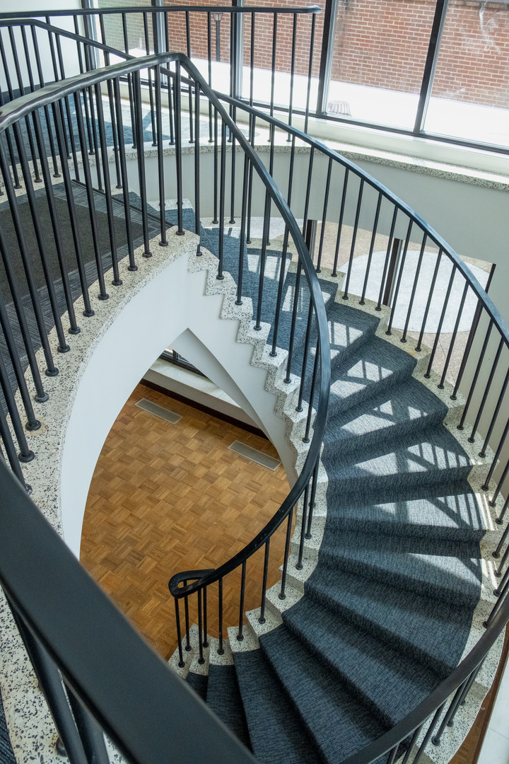 Spiral Stair to First Floor