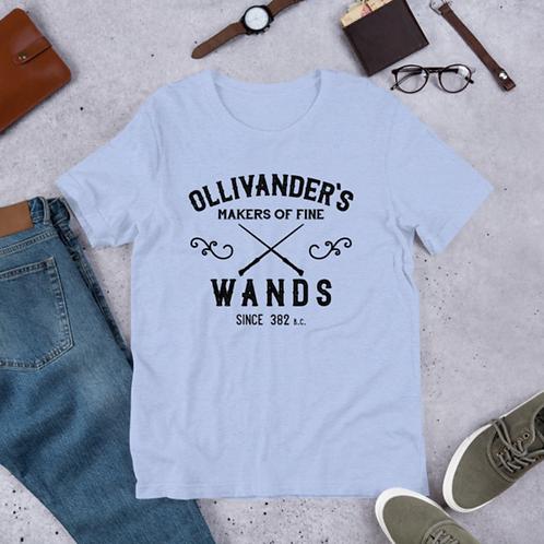 Ollivander's Wands Short-Sleeve Unisex Graphic T-Shirt