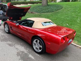 Beautiful 99 Corvette Convertible