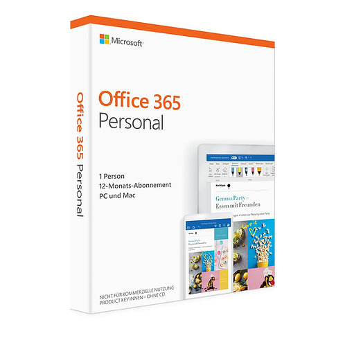 Microsoft Office 365 Personal bzw. Microsoft 365 Single