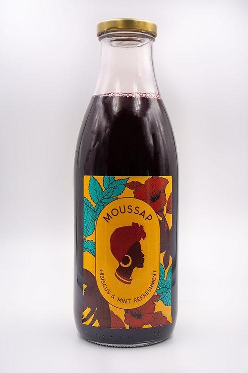 Jus de Bissap (1L) - Moussap