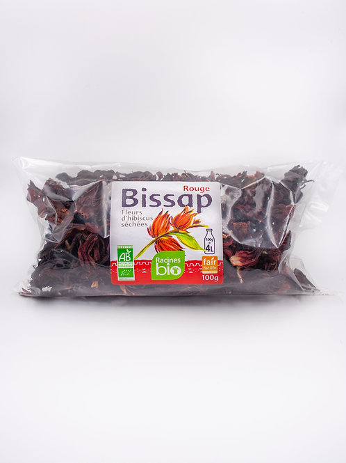Fleurs d'Hibiscus Rouge  (100 g) - RACINES BIO