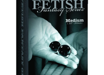 Fetish Fantasy Limited Edition Black Glass Ben-Wa Ball