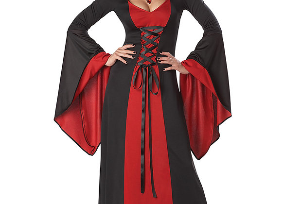 Hooded Robe Costume Red
