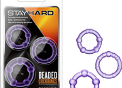 Beaded Cockring (Purple)