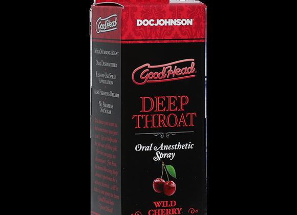 GoodHead™ Deep Throat Spray – Wild Cherry