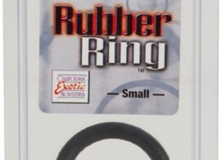 Rubber Ring Small Black