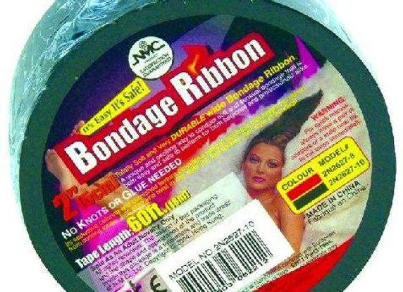 Bondage Ribbon Black 18m