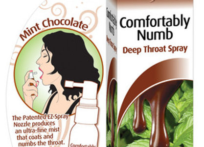 Comfortably Numb Deep Throat Spray-Chocolate Mint