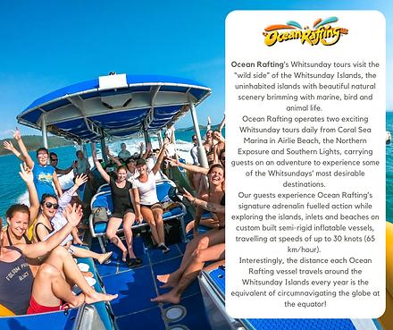 Ocean Rafting Website advertising Octobe