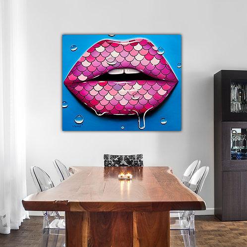 Mermaid Kiss (Print)