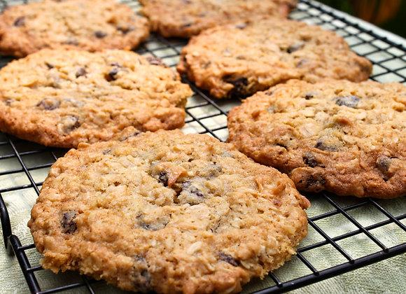 "Jumbo Oatmeal Raisin Cookies 4""-5"""