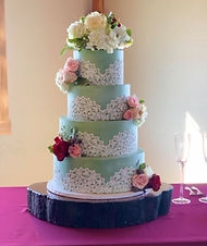 2019 - 11 - Wedding Cake - Green - Willo