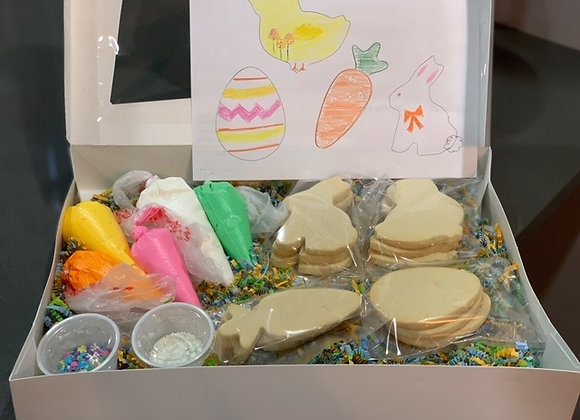 Easter DIY Decorated Cookie Set