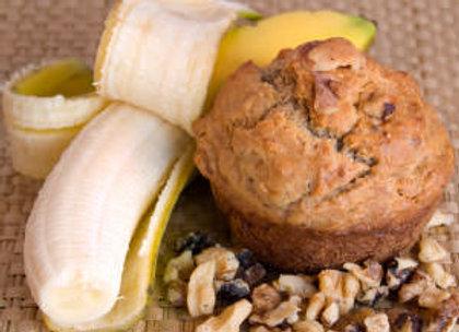 Jumbo Banana Nut Muffins