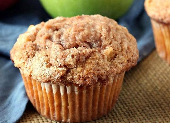 Jumbo Apple Pie Muffins