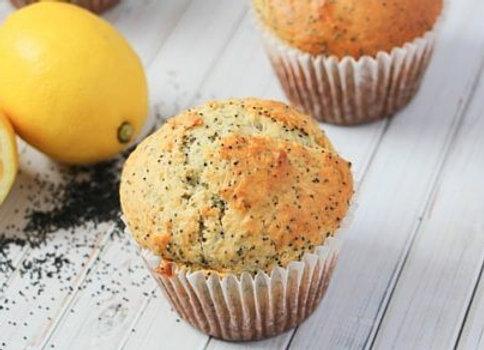 Jumbo Lemon Poppyseed Muffins