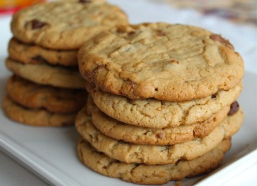 "Jumbo Peanut Butter Cookies 4""-5"""