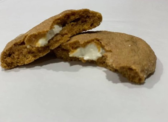 "Jumbo Pumpkin Cream Cheese Cookies 4""-5"""