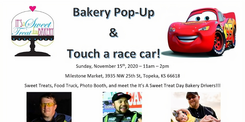 Topeka Pop-Up and Touch A Race Car