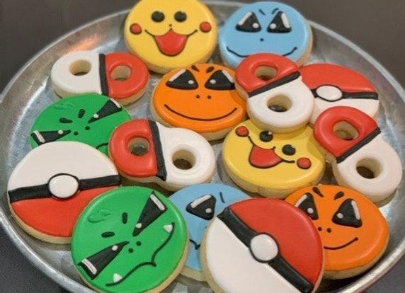 Pokemon Decorated Cookies