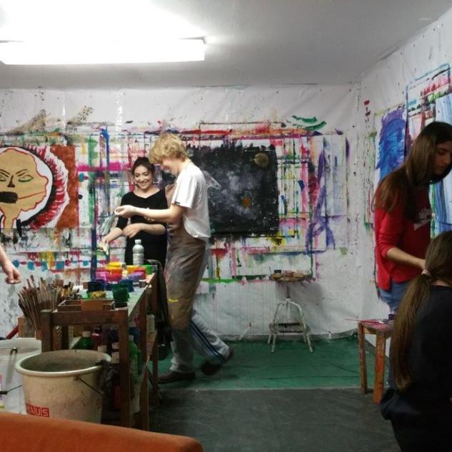 Schulprojekte im Atelier