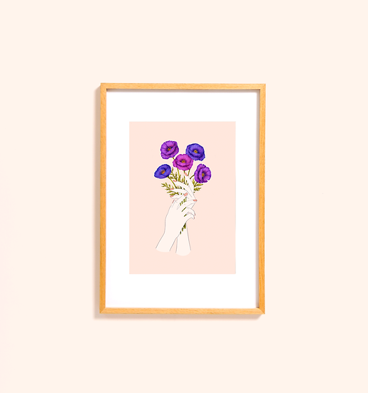 Bloom [blush] Print
