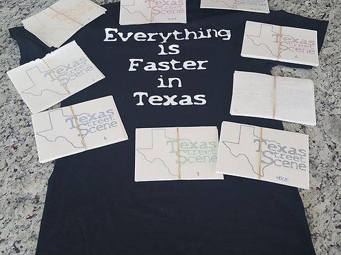 Texas Street Scene Stickers
