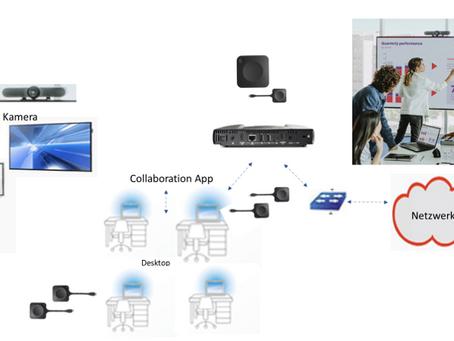 Videokonferenzen per Mausklick aber für den hohen Anspruch ( UHD Qualität)
