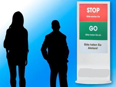 Ampelsystem garantiert automatische Steuerung von Besucherströmen anhand von Echtzeit Sensordaten