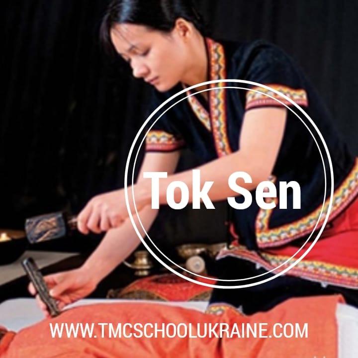 Как правильно выполнять ТОК-СЕН массаж. Курсы Тайского ТОК-СЕН массажа.TMC School Ukraine