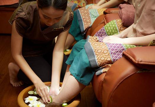 обучение тайскому массажу стоп