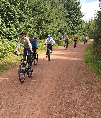 A fantastic day of biking for outposts o