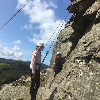 Fun in the sun! #rockclimbing #exmoor #b