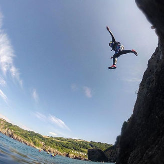 Oh we do love a spot of #coasteering, th