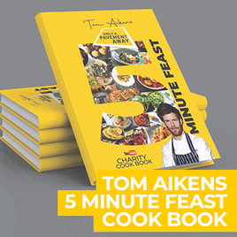 Only a Pavement Away Calls for Funding To Publish Tom Aikens Charity Cookery Cookbook