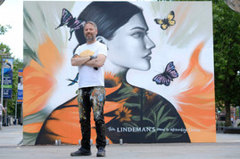 Step into The Sunshine - Lindeman's Carbon Absorbing Murals