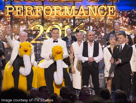 Showsec recognition at Royal Variety Performance