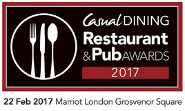 Casual Dining Restaurant & Pub Awards 2017: entries are open