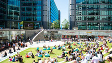 Paddington Central Celebrates the British Summertime With Open Air Big Screen and BBQ Feast