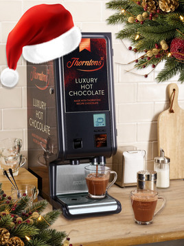 Win a Luxury Hot Chocolate Table-Top Machine Just in Time for Christmas