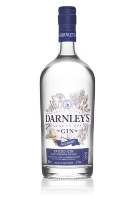 New look 'Darnley's Gin' unveiled as brand announces plans for milestone year