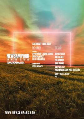 The Team Behind Mint Warehouse Announce Newsam Park – 10th July 2021